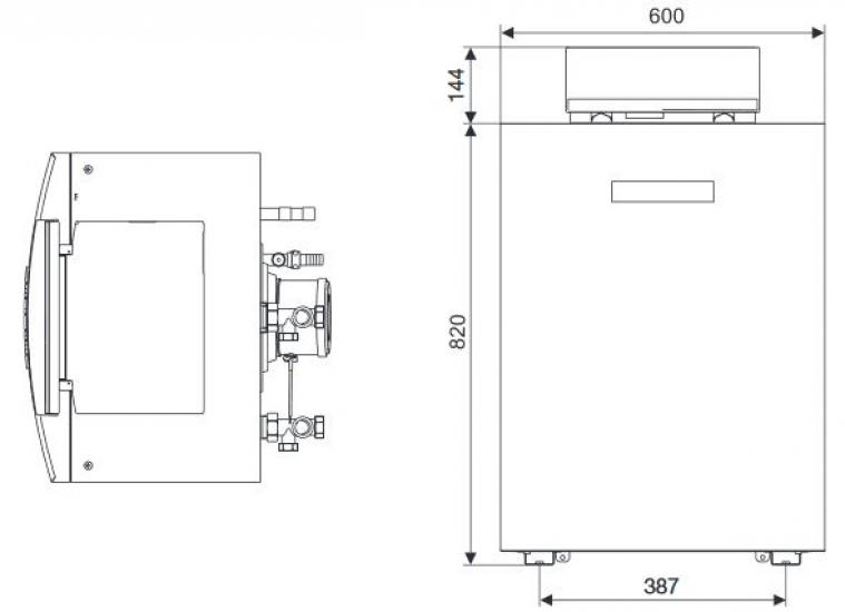 buderus logano plus gb212 22 kw gas brennwertkessel heizkessel therme heizung heat store. Black Bedroom Furniture Sets. Home Design Ideas