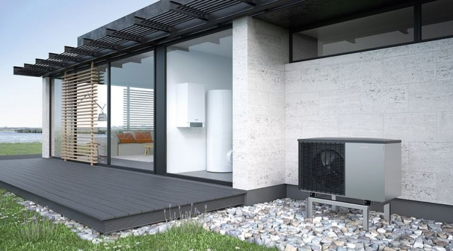 viessmann vitocal 200 s 5 4 kw luft wasser split w rmepumpe vitocell 100 w heat store. Black Bedroom Furniture Sets. Home Design Ideas