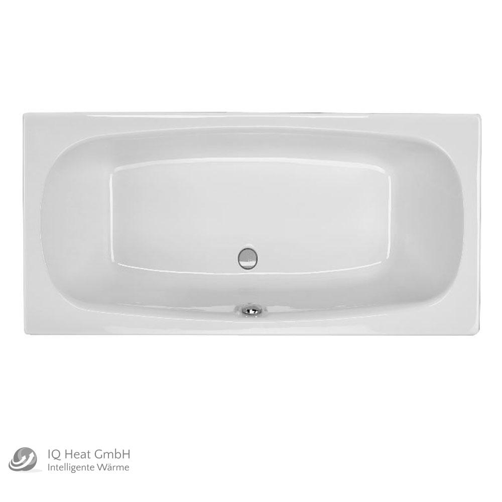Cool acryl badewanne acapulco x cm wei wanne styropor wannentrger rechteck with badewanne 1 80 x 80