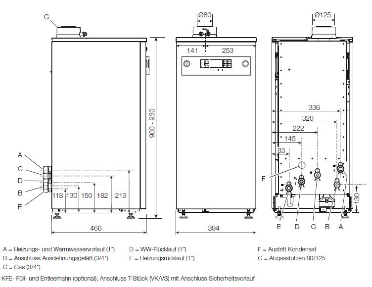 Buderus Paket GB102S 16 kW Gasbrennwert Kessel Logalux Speicher ...