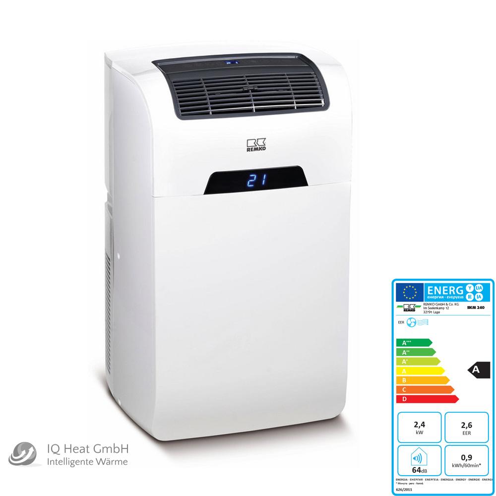 Remko Skm 240 Monoblock Klimagerät Klimaanlage Raumklimagerät 24