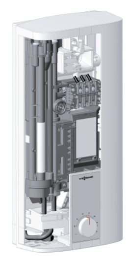 viessmann vitotherm ei4 elektro durchlauferhitzer elektr 18 21 24 kw heat store. Black Bedroom Furniture Sets. Home Design Ideas