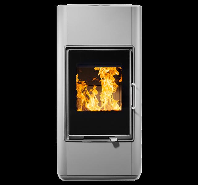 buderus convexus chrom 8 kw wassergef hrt kamin ofen holzofen kaminofen heat store. Black Bedroom Furniture Sets. Home Design Ideas