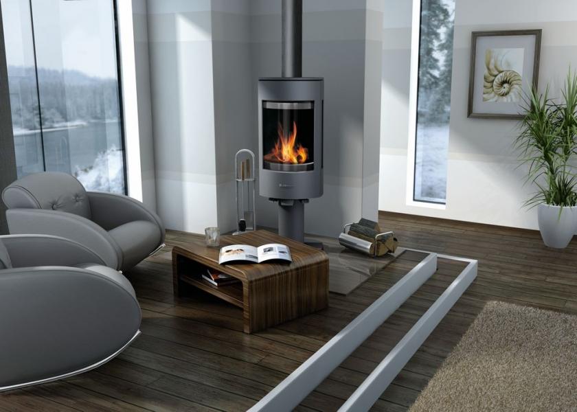 buderus logastyle 32 gussofen kaminofen gusseisen ofen 8 kw mit standfu heat store. Black Bedroom Furniture Sets. Home Design Ideas