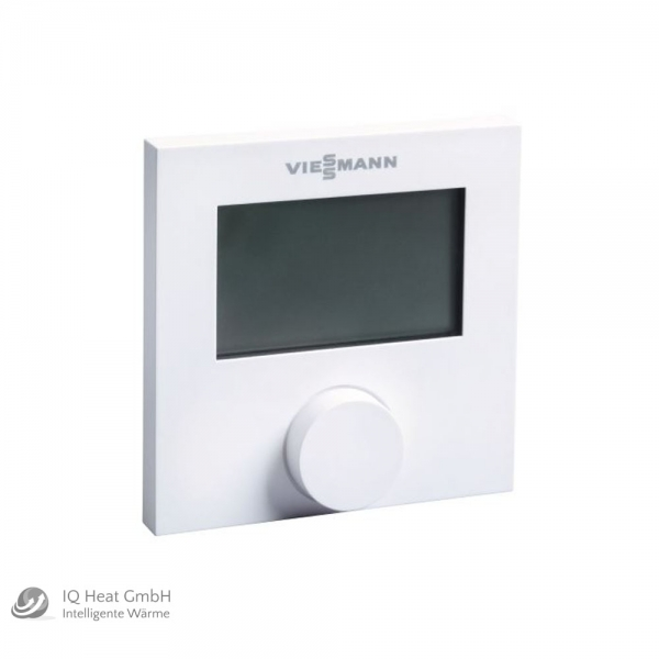viessmann lcd raumthermostat digital 230 v f r. Black Bedroom Furniture Sets. Home Design Ideas